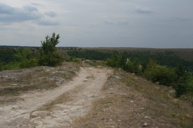 вершина Замкової гори.
